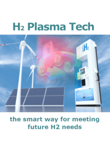 H2 production by means of plasma technology.