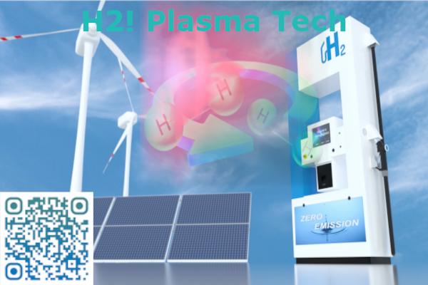 MW plasma technology for processing hydrogen